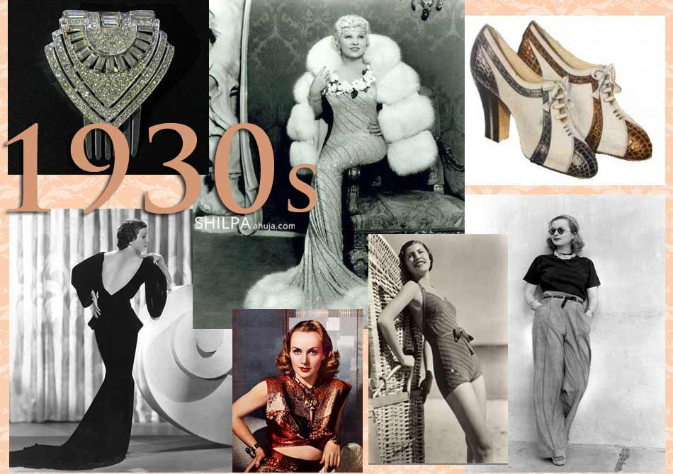 1930 evolution of fashion trends