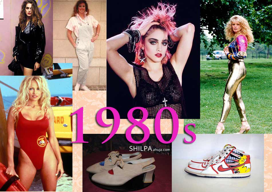 1980s fashion through the decades