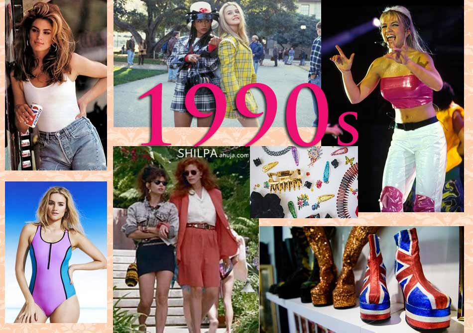 1990s fashion history timeline trends facts