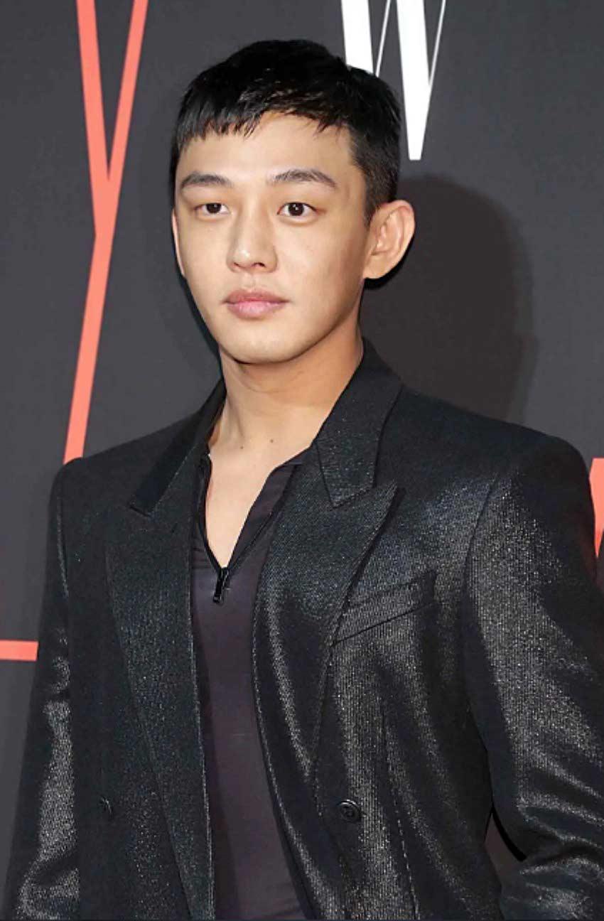Yoo Ah' Caesar haircuts for men