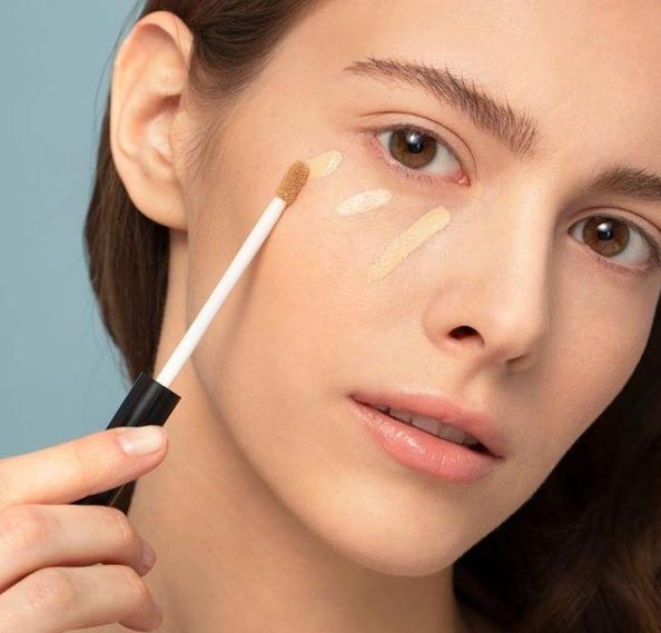 How to apply concealer makeup