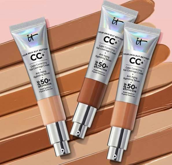 CC Cream for oily skin