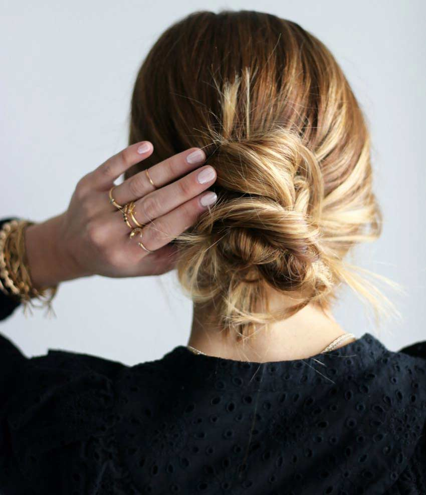 easy and cute hairstyles to do at home