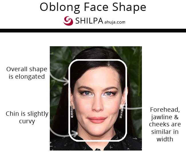 Liv Tyler long and narrow face cut