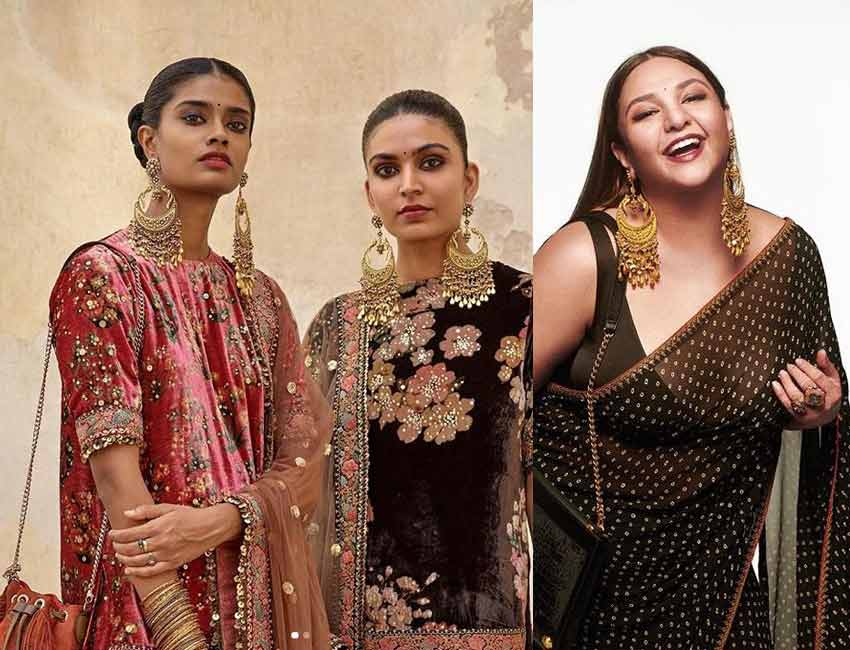 sabyasachi--indian-earrings-fashion-trends-2020