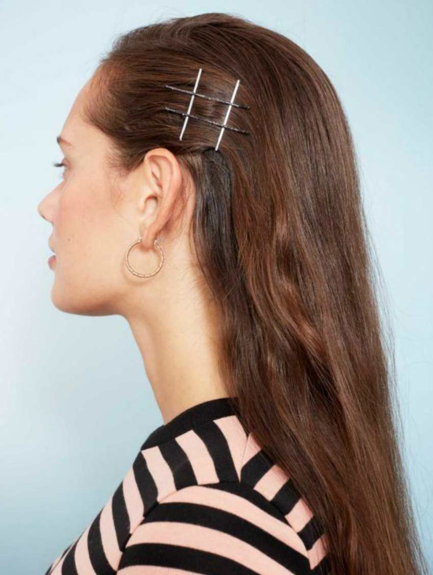 simple hairstyles to do in 30 seconds