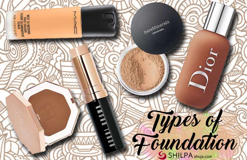 how to choose the right types of foundation