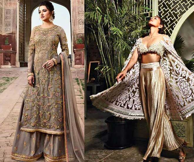 types-of-indian wear-palazzo-traditional-and-modern
