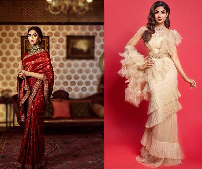 types of indian wear-saree-traditional and modern