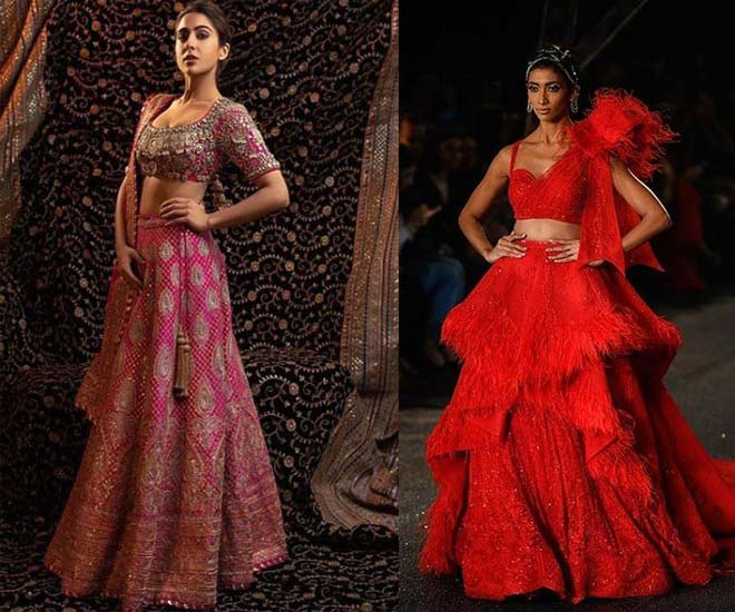 different-types of indian wear-ghagra-choli