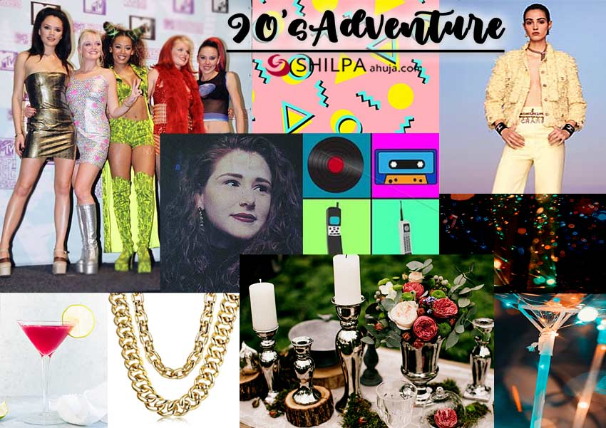 90s-adventure-red-carpet-theme-dressup-martini-decor-ideas