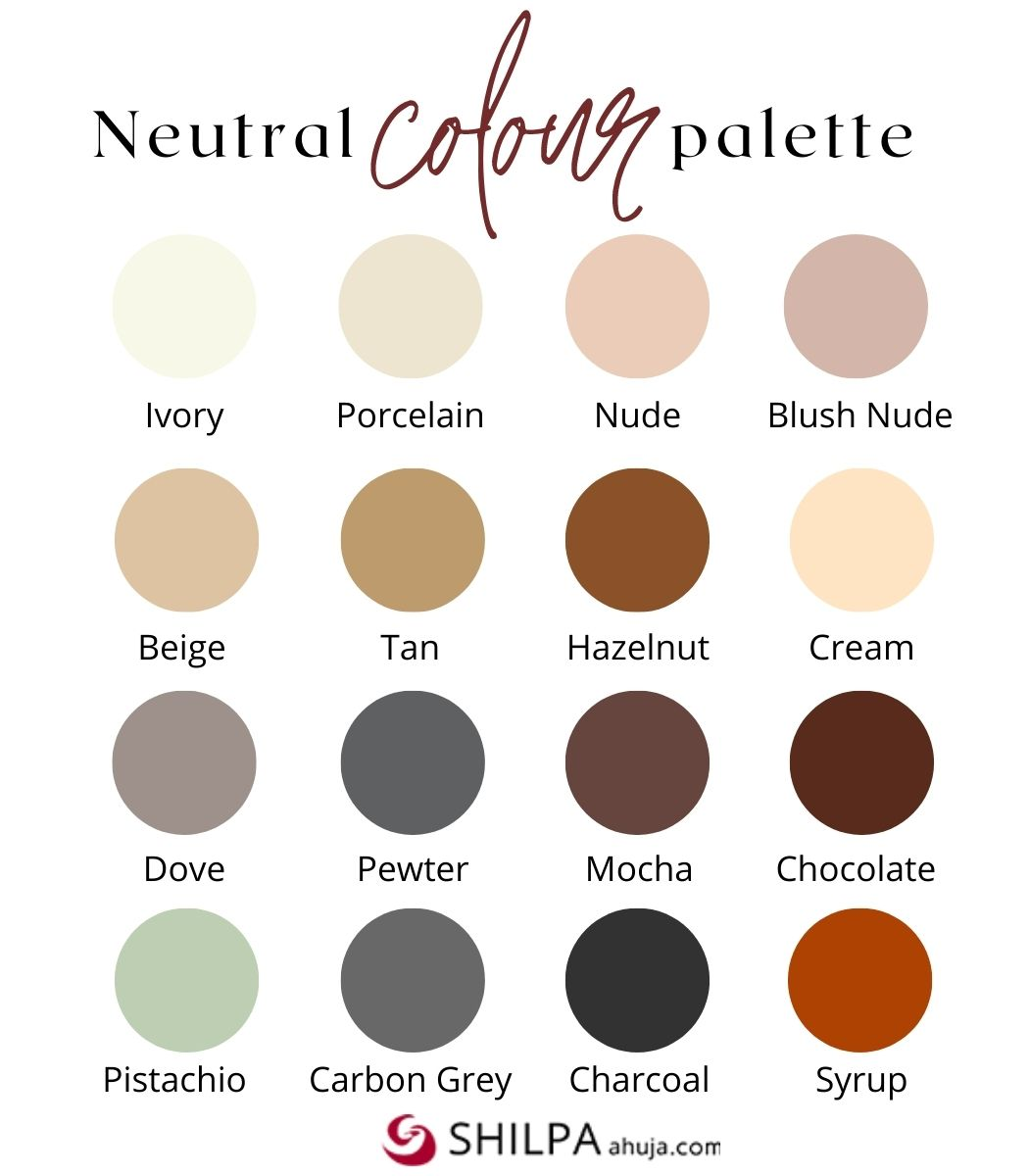 Neutral colors and How to Wear Them