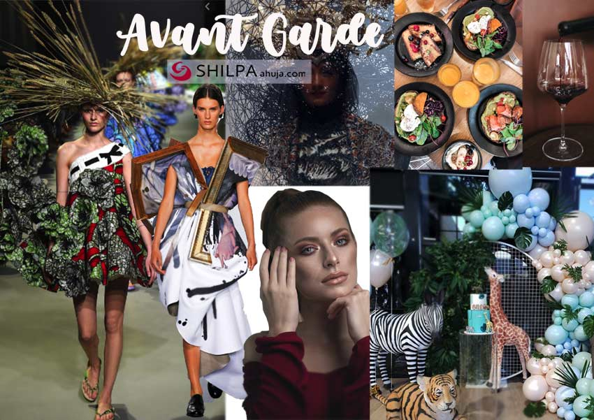 avant-garde-halloween-classy party themes-dressup-makeup-decor-and-drink-idea