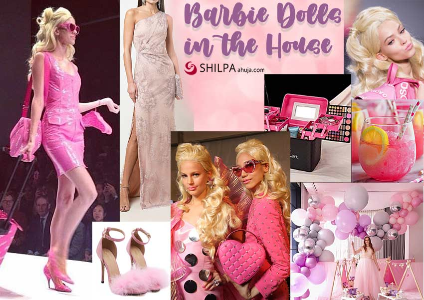 barbie-birthday-classy party themes-pink-dressup-makeup-decor-ideas