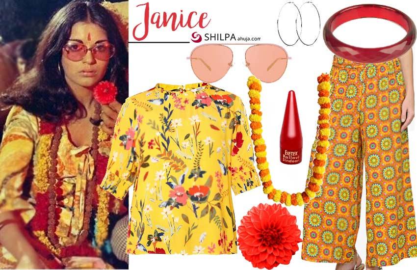 Zeenat Aman – Janice (Hare Rama Hare Krishna)