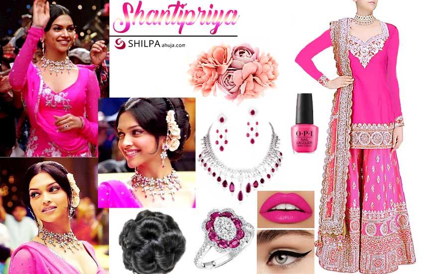 Deepika Padukone – Shantipriya (Om Shanti Om)