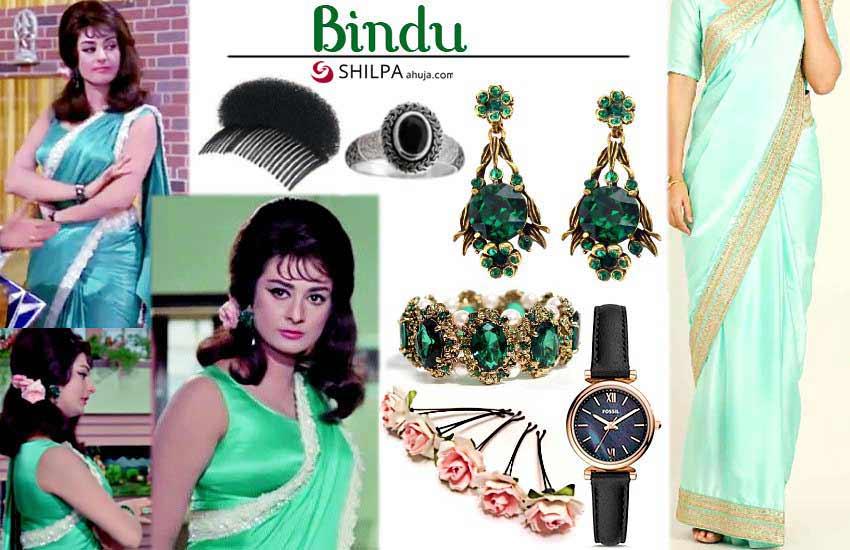 Saira Banu – Bindu (Padosan)