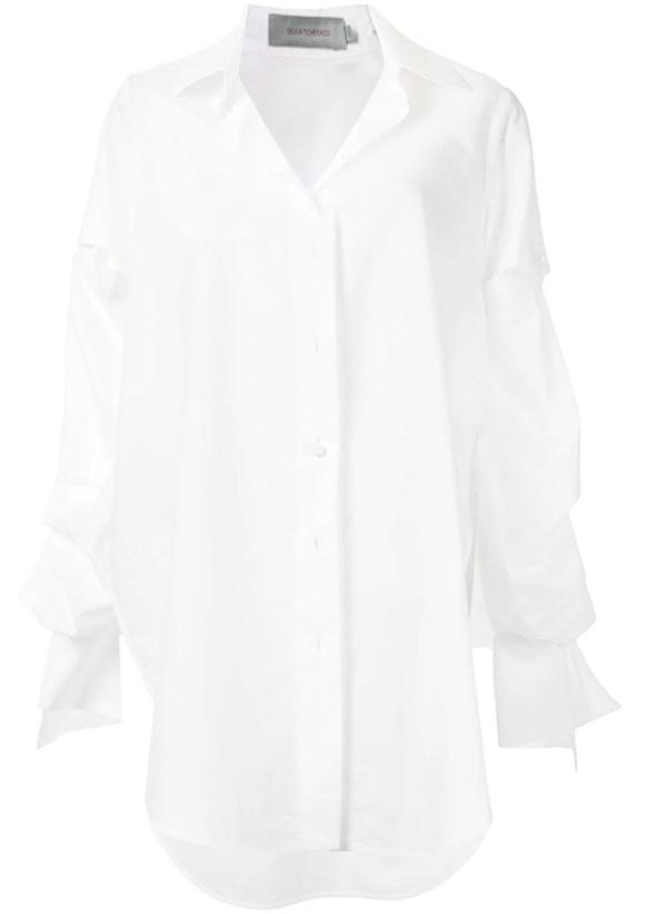 detachable-sleeve-white-shirt-style-inspiration