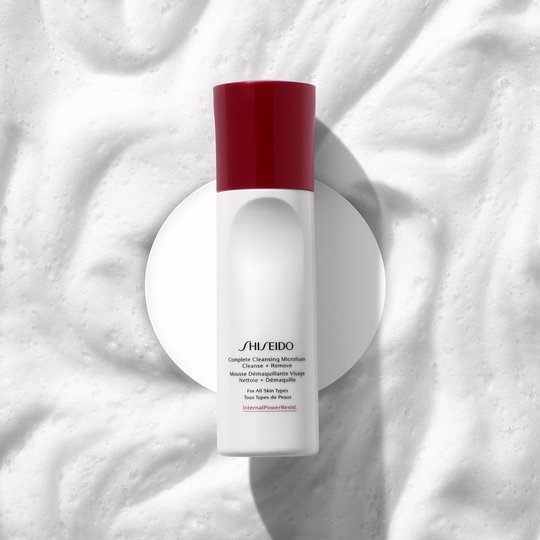 shiseido-luxury-skincare-brands-cleanser