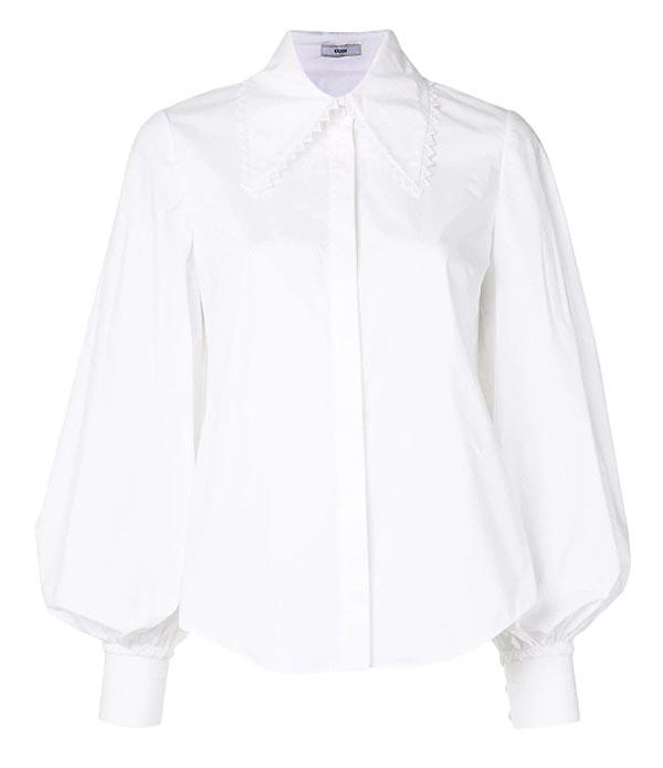 style-a-lantern-sleeve-poplin-shirt