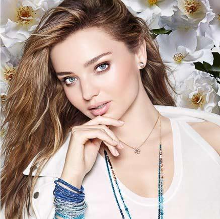 best fashion model miranda kerr swarovski campaign 2015