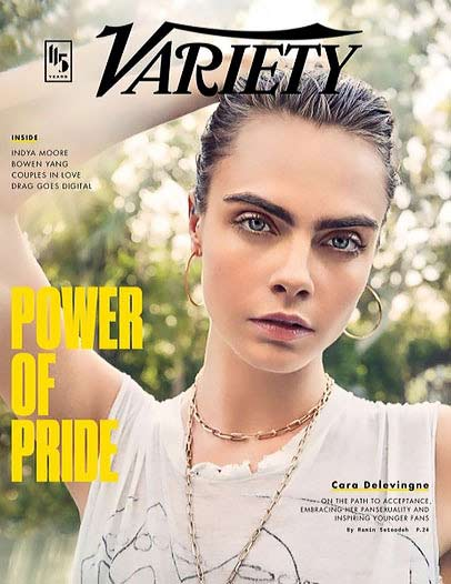 famous fashion model cara delevingne variety june 2020