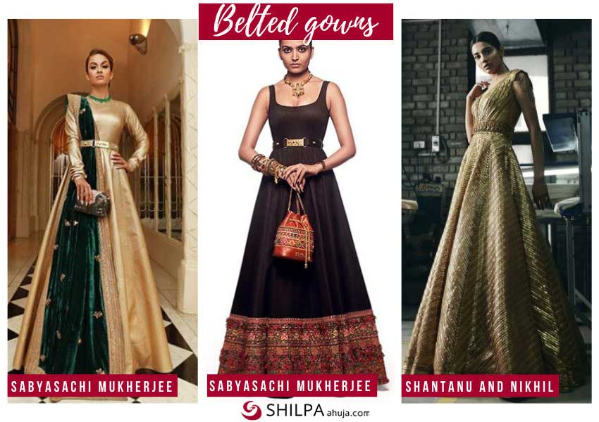 latest-ethnic-wear-belted-gowns-indo-western-fusion-trends