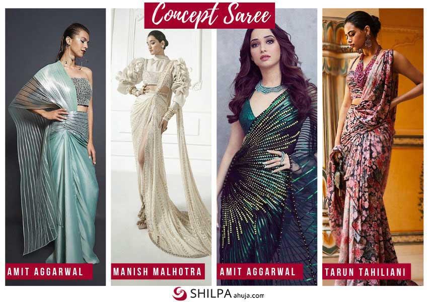 latest-ethnic-wear-concept-saree-indo-western-fusion-fashion