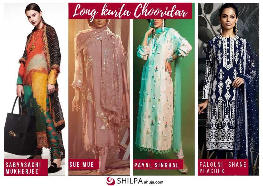 latest-ethnic-wear-long-kurta-chooridar-suit-fashion-trends