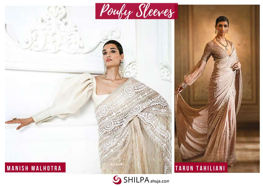 latest-indian-ethnic-trends-poufy-sleeves-saree-trends