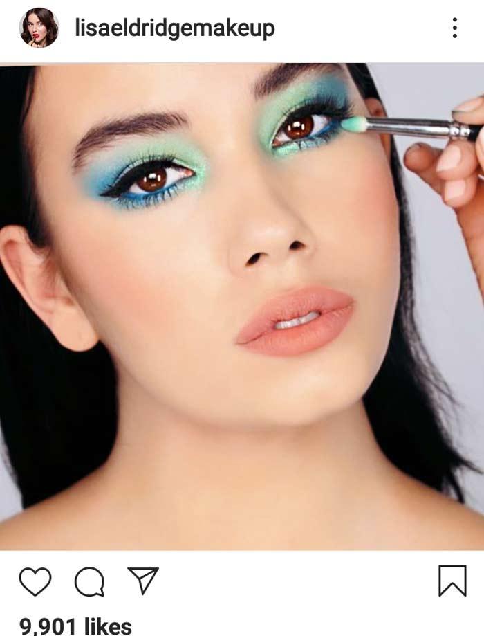 mint eyes beautiful eye makeup look idea