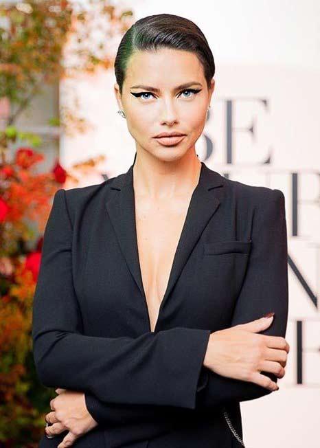 top fashion models adriana lima brand bcbgmaxazria 2019
