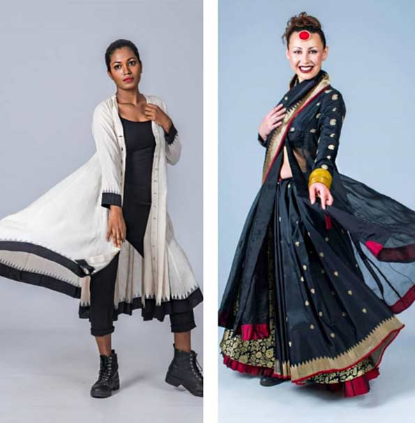 Upasana hand woven sarees sustainable brand
