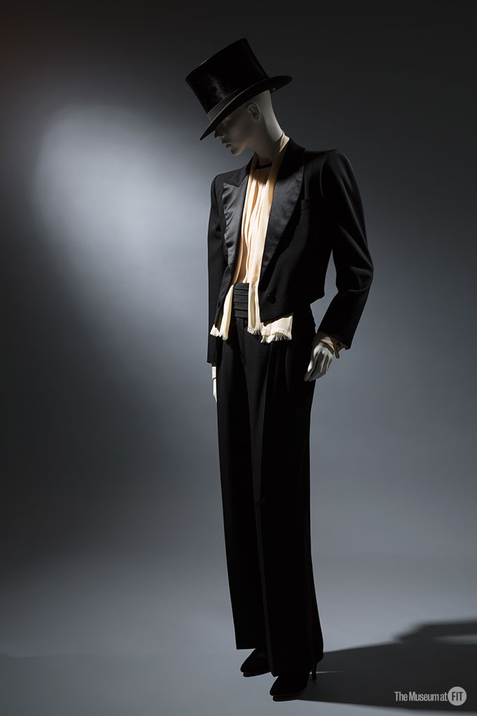 70s fashion designers yves saint laurent pantsuits