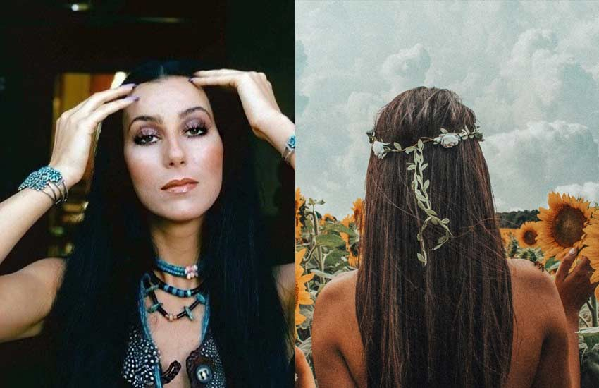 70s hippie style accessories jewelry turquoise headbands