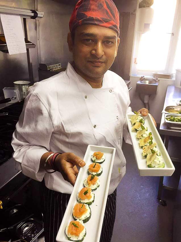 Chef Shravan Kumar