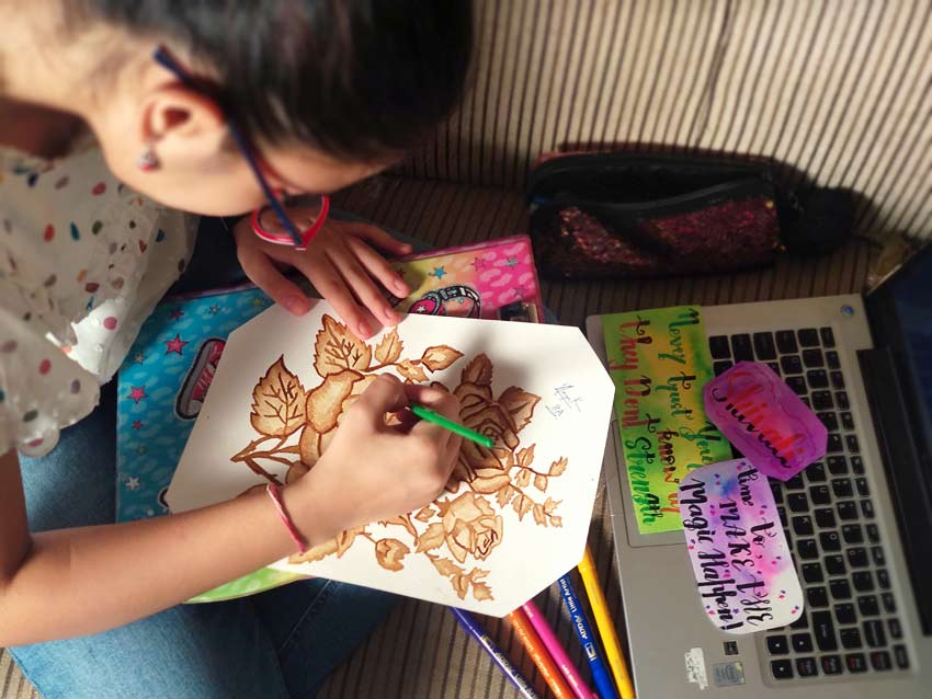 artist personality type art calligraphy painting
