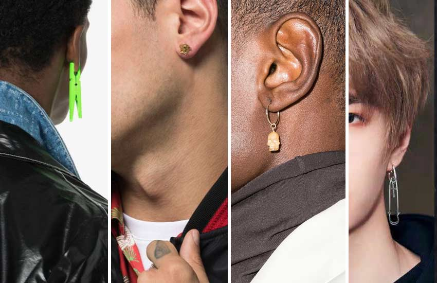 popular top male-trends-jewelry-mens studs 2021-earings
