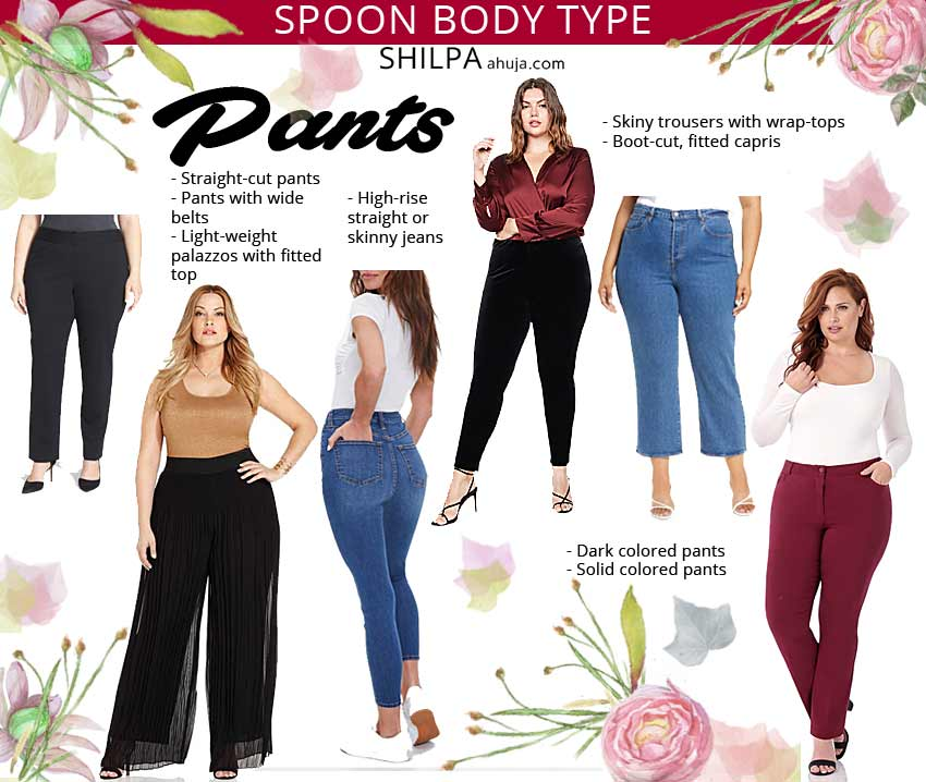 spoon body shape pants