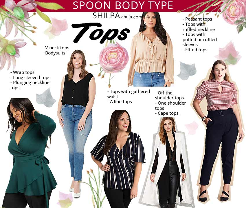spoon body shape tops