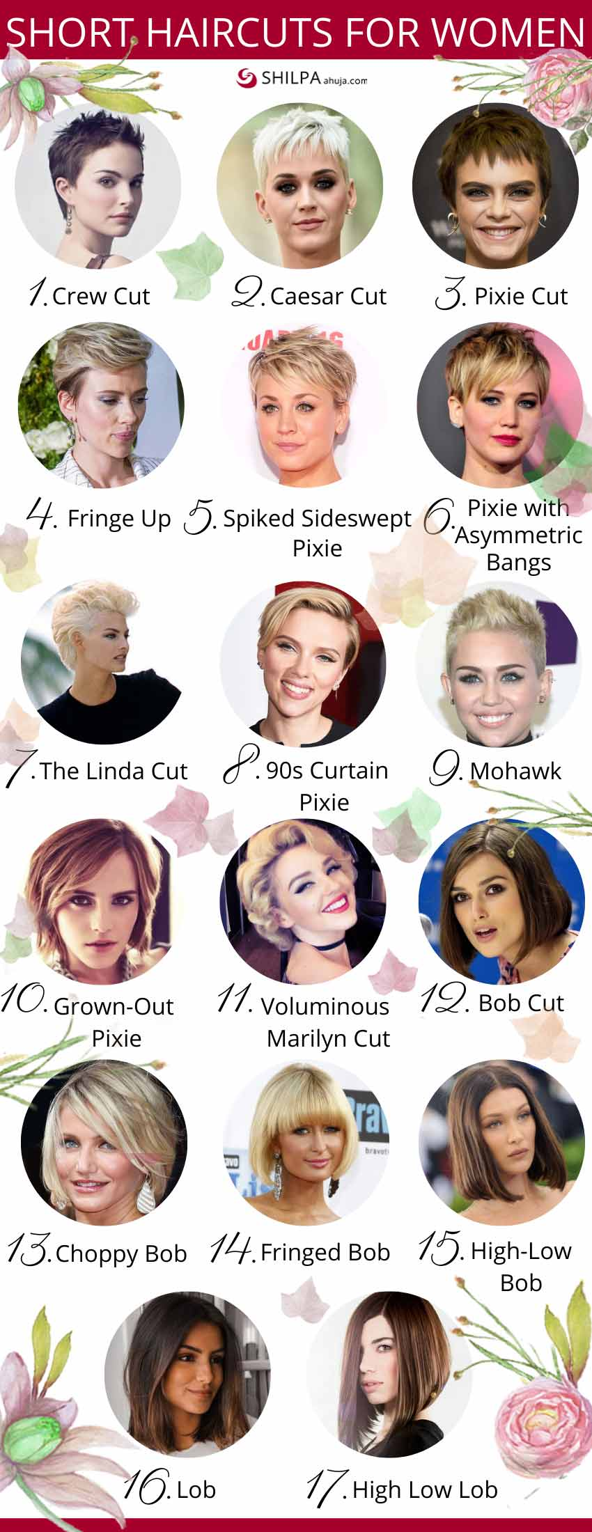 types of Short-haircuts-for-women-ladies ideas