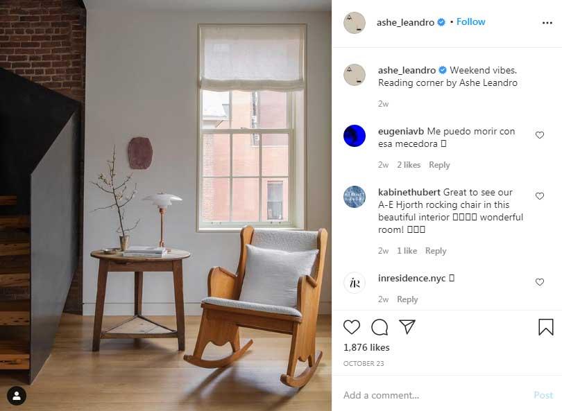 Ariel-Ashe-&- Reinaldo- Leandro-influential-interior-decorator-instagram