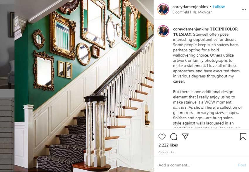 Corey-Damen-Jenkins-best-home-decor-instagram-designers