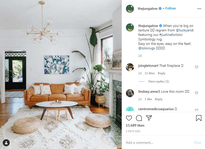 Justina-Blakeney-most-followed-interior-designer-instagram