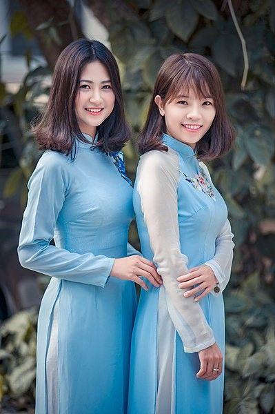 ao dai vietnam asian traditional fashion men women