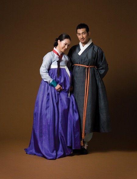 hanbok asian traditional fashion korea men women