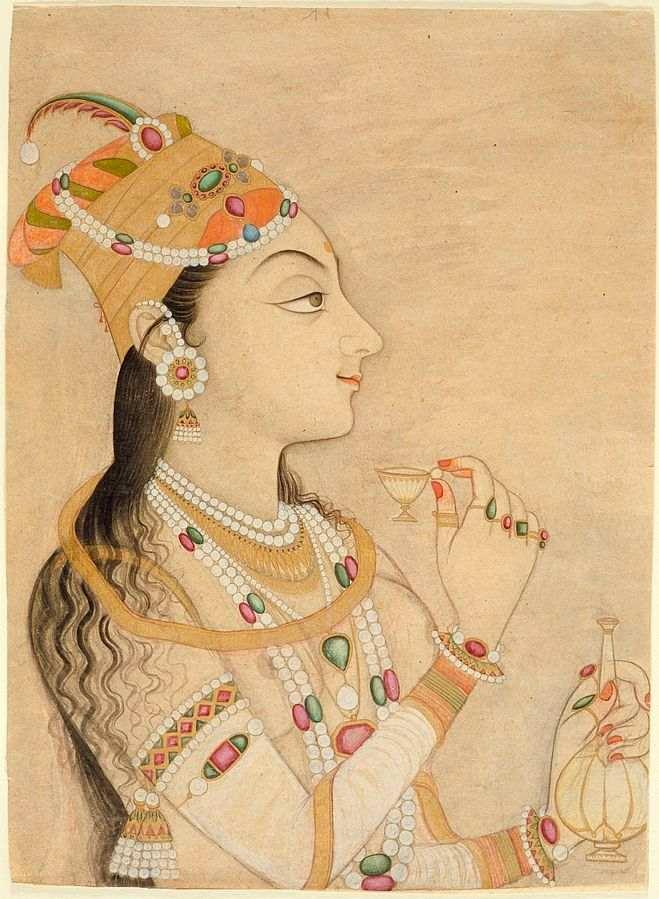 indian traditional fashion nur jahan mughal dynasty