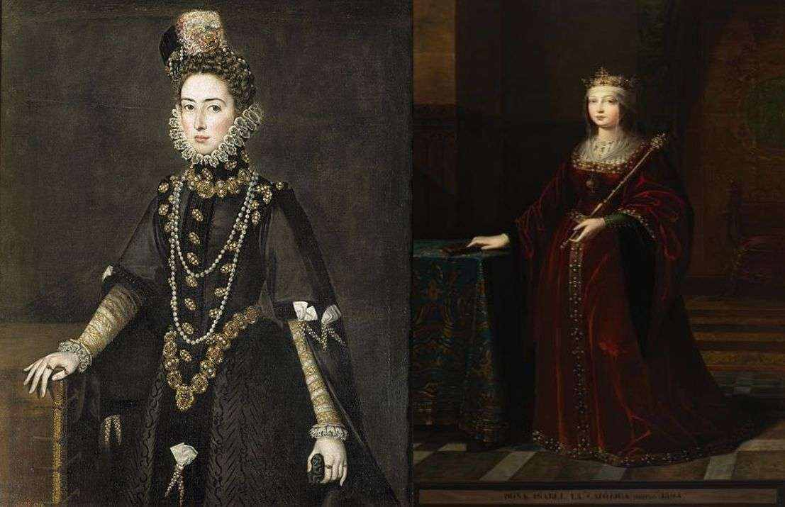 traditional fashion around the world women gowns farthingale