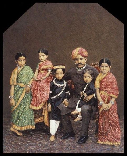wadiyar indian traditional clothing