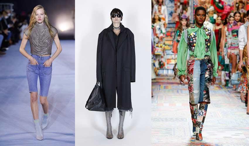 knee-length-capri-trend-balenciaga-balmain-dolce-spring-denim-trends-2021